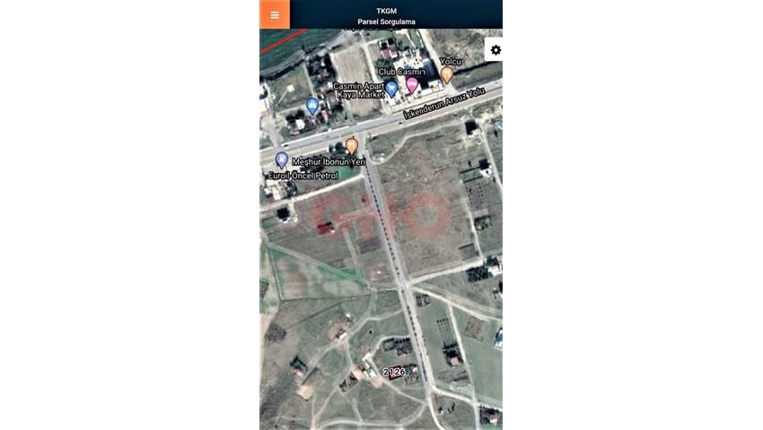 Arsuz yolu üzeri Karahüseyinli Bölgesi Satılık Arsa
