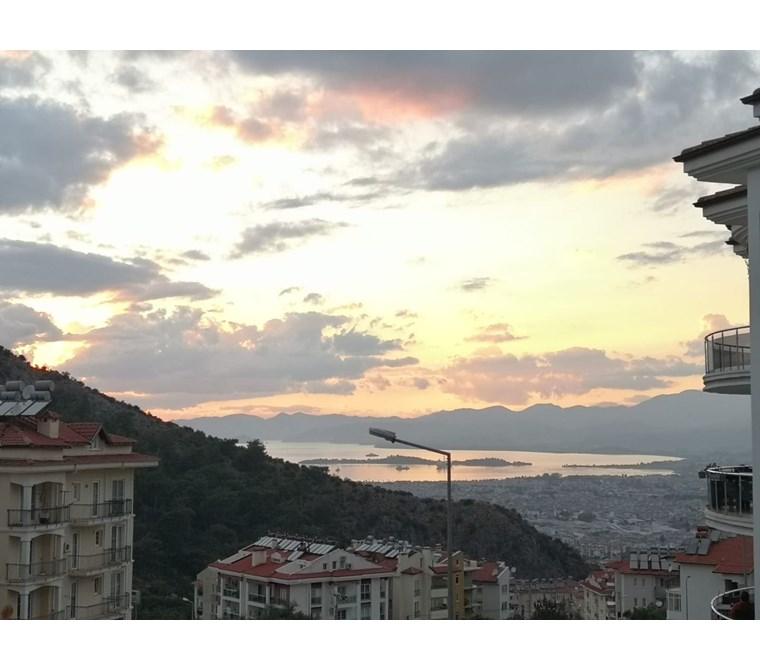Located Fethiye Taşyaka area 3 bedroom apartment