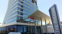 THE PARAGON TOWER'DA KOMPLE SATILIK PRESTİJLİ OFİS KATI