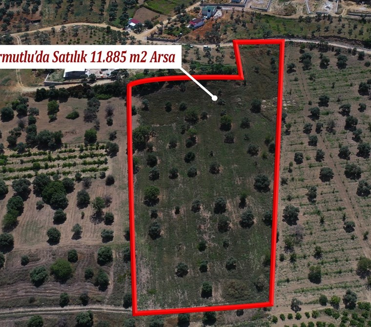 Kemalpaşa Armutlu'da Satılık 11.885m2 Arazi