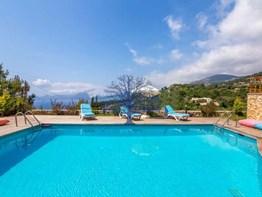 Fethiye Faralya satılık müstakil villa deniz manzaralı