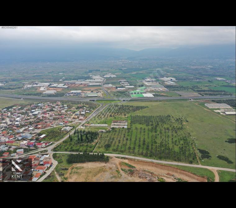 Kemalpaşa Akalan Otoban Kavşağında Kiralık 17.000 m2 Arazi