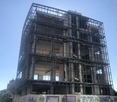 Lefkoşa Yenişehir'de Ana Cadde Üstü 5 Katlı Ticari Bina