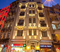 Beyoglu Evden Galatasarayda F.dahil balkonlu full esyalı daire