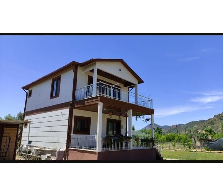 Muğla ortaca gölbaşı mah satılık müstakil ev 1600 m2 ve bahçesi