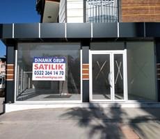 Menemen İnönü'de Bulvar Üstü 130 m2 Satılık Dükkan Mağaza