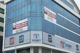 MERKEZ PRİME hastanesi karşısı İskanlı Lüks Plaza katları