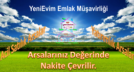 YeniEvim'den Sarıçam Buruk'ta 7.150 m2 Yatırımlık  Arazi.