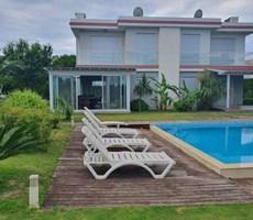 İzmir Çeşme Alaçatı Site İçinde Satılık Modern Villa