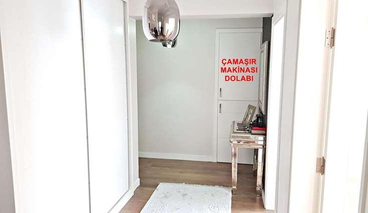ELFİ'DEN BEŞEVLER CD. ÜZERİNDE 2+1E ÇEVRİLMİŞ SATILIK LÜKS DAİRE