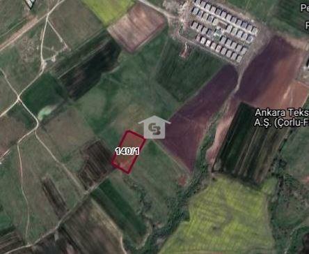 Banka'dan Satılık Çorlu Türkgücü Mah. İmarlı 4915.04 m2 Arsa