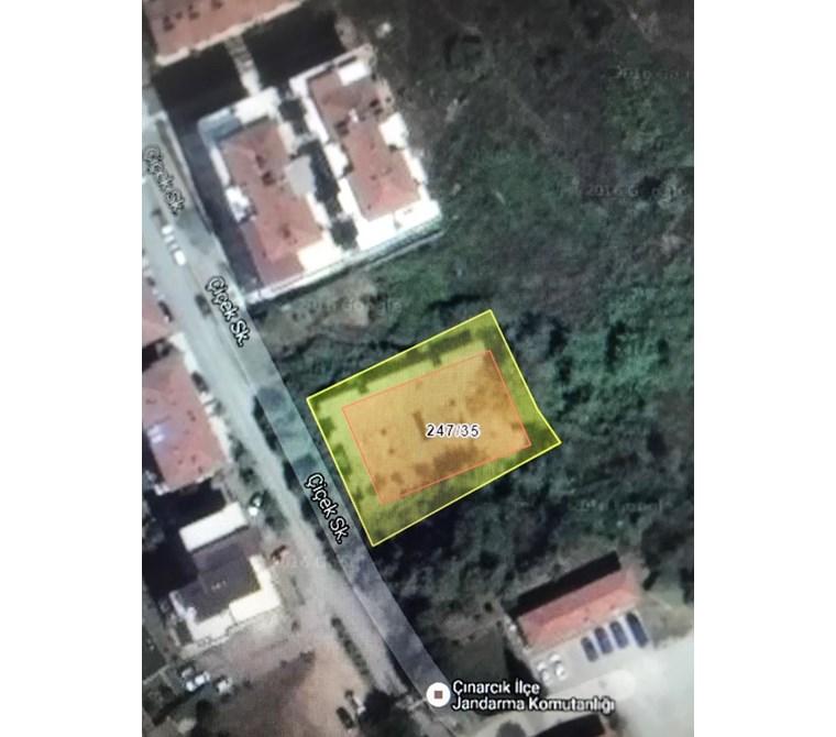 ÇINARCIKTA DENİZE 200MT MESAFEDE İMARLI ARAZİ