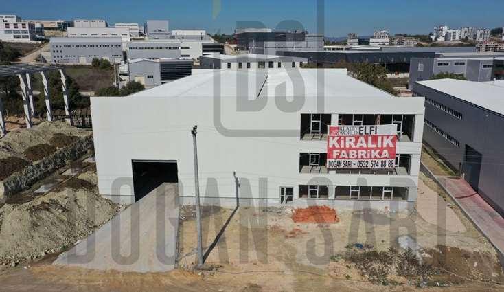ELFİ den KAYAPA SANAYİ BÖLGESİ 1.950 m2 TEK KAT KİRALIK FABRİKA
