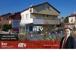 Ahmet YAZICI'dan Urla İskele'de SATILIK 3+1 Dubleks Ev + Dükkan