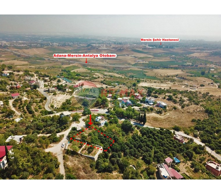 REMAX LOCA'DAN BULUKLU'DA ŞEHİR MANZARALI İMARLI ARSA