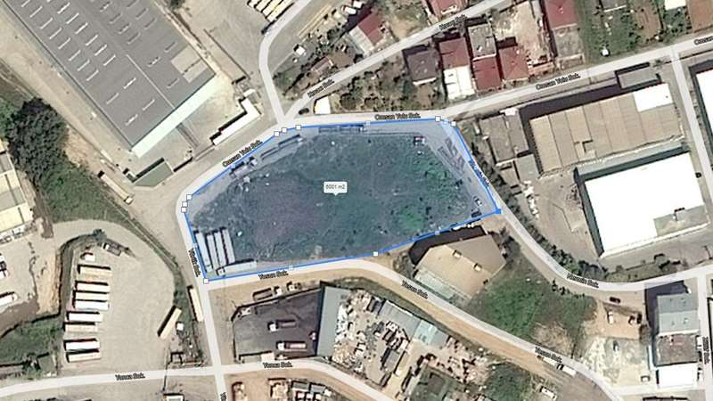 ŞEKERPINAR'DA MERKEZİ KONUMDA KİRALIK 6000 M² E:1.50 HMAX:15.50