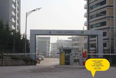 İZMİT YILDIZ KONUTLARI 'NDA 1+1 75 m² KİRALIK DAİRE