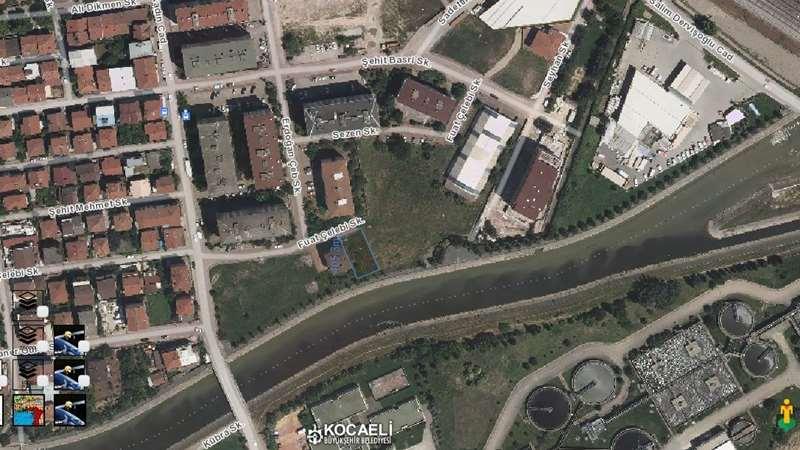 İzmit 42 Evlerde 406m2 Ticari İmarlı Arsa Satılık