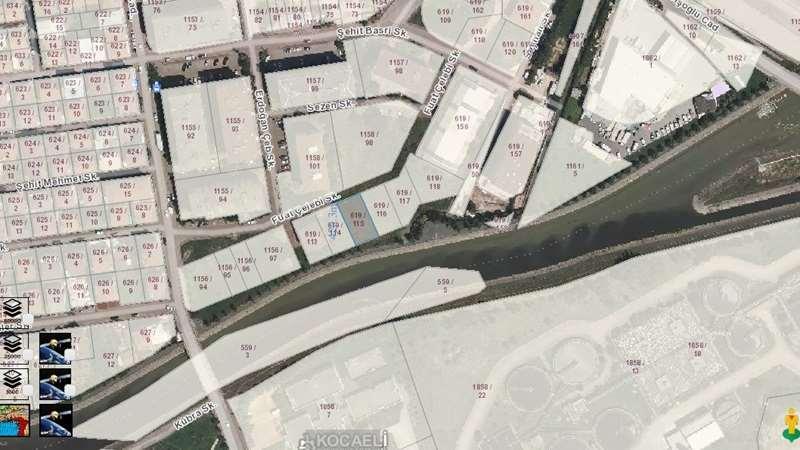 İzmit 42 Evlerde 420m2 Ticari İmarlı Arsa Satılık