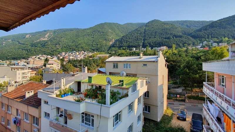 Müthiş teleferik dağ manzaralı daire fiyatına komple Bina