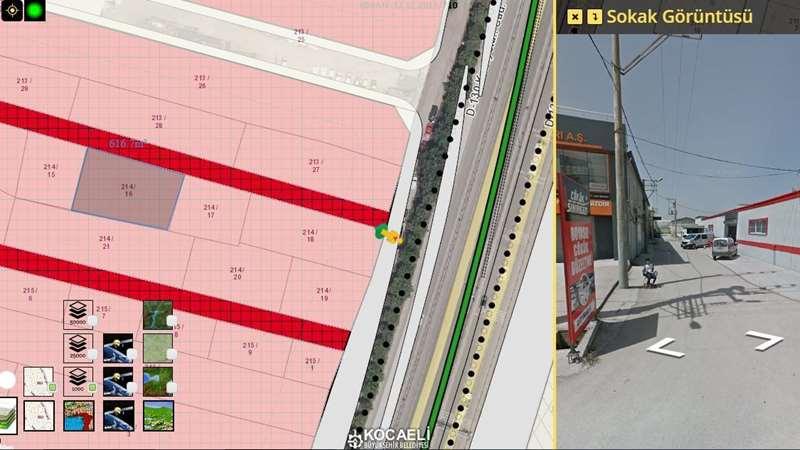 Kocaeli, Kullar da 619m2 arsa da 500m2 kapalı alan satılık