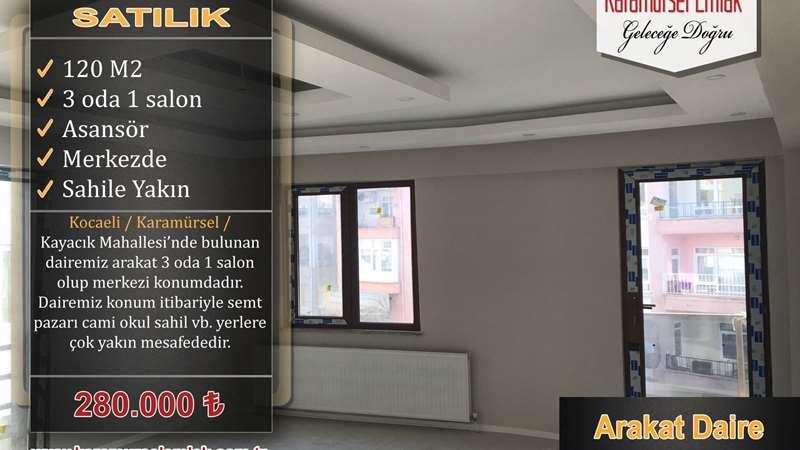 KARAMÜRSEL EMLAK'TAN ARAKAT 3+1 SIFIR DAİRE
