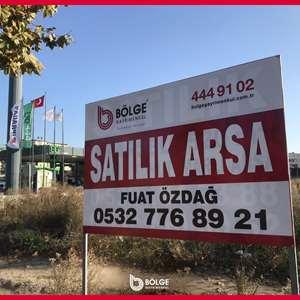 BÖLGE GAYRİMENKULDEN TİCARİ VE KONUT İMARLI 5502m2 ADA ARSA