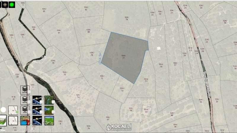 Kocaeli, Kartepe, Eşme bölgesinde 6778m2 arsa satılık
