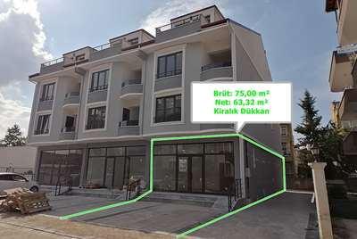 FATİH MH. YAHYAKAPTAN MUHİTİ BRÜT 75 m² KİRALIK SIFIR DÜKKAN