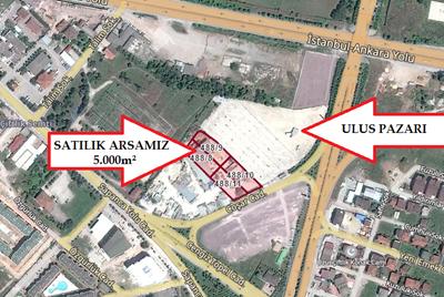 KARTEPE SAPANCA YOLU 5000m² TİCARİ+KONUT TAKASA UYGUN ARSA